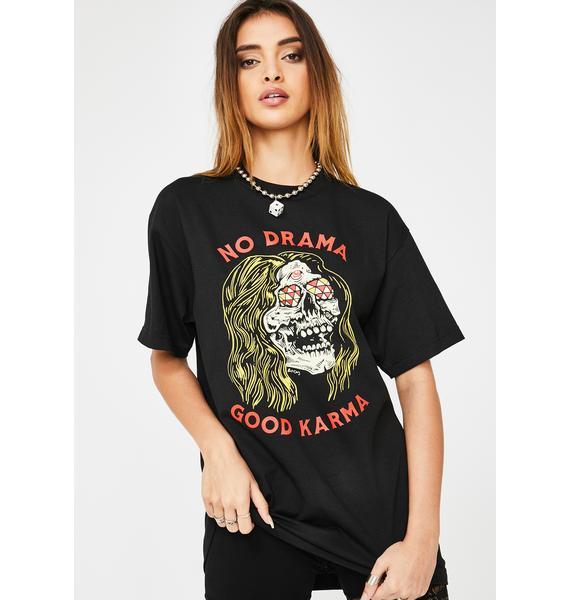 Boss Dog No Drama Graphic Tee