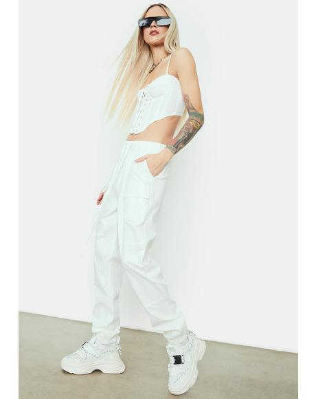 Chill Crew Love Cargo Pants Set