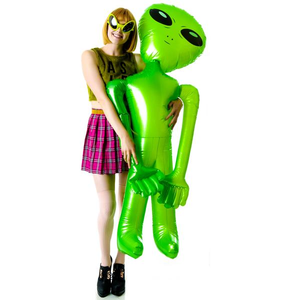 Alien Baby Inflatable Toy