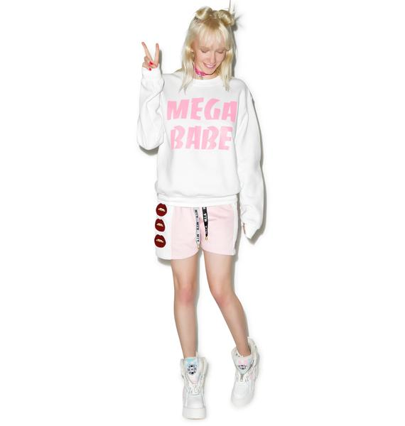 Stay Cute Mega Babe Crewneck