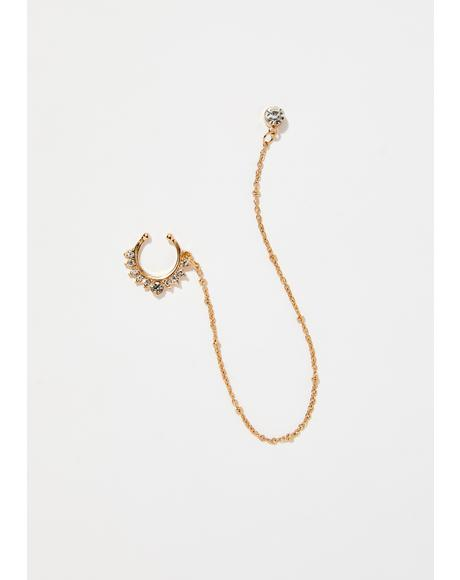 Goddess Glow Septum Earring Chain