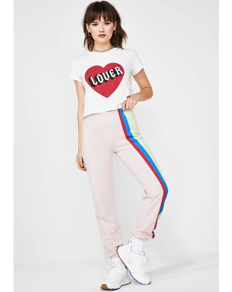 Mellow Stripes Easy Sweats