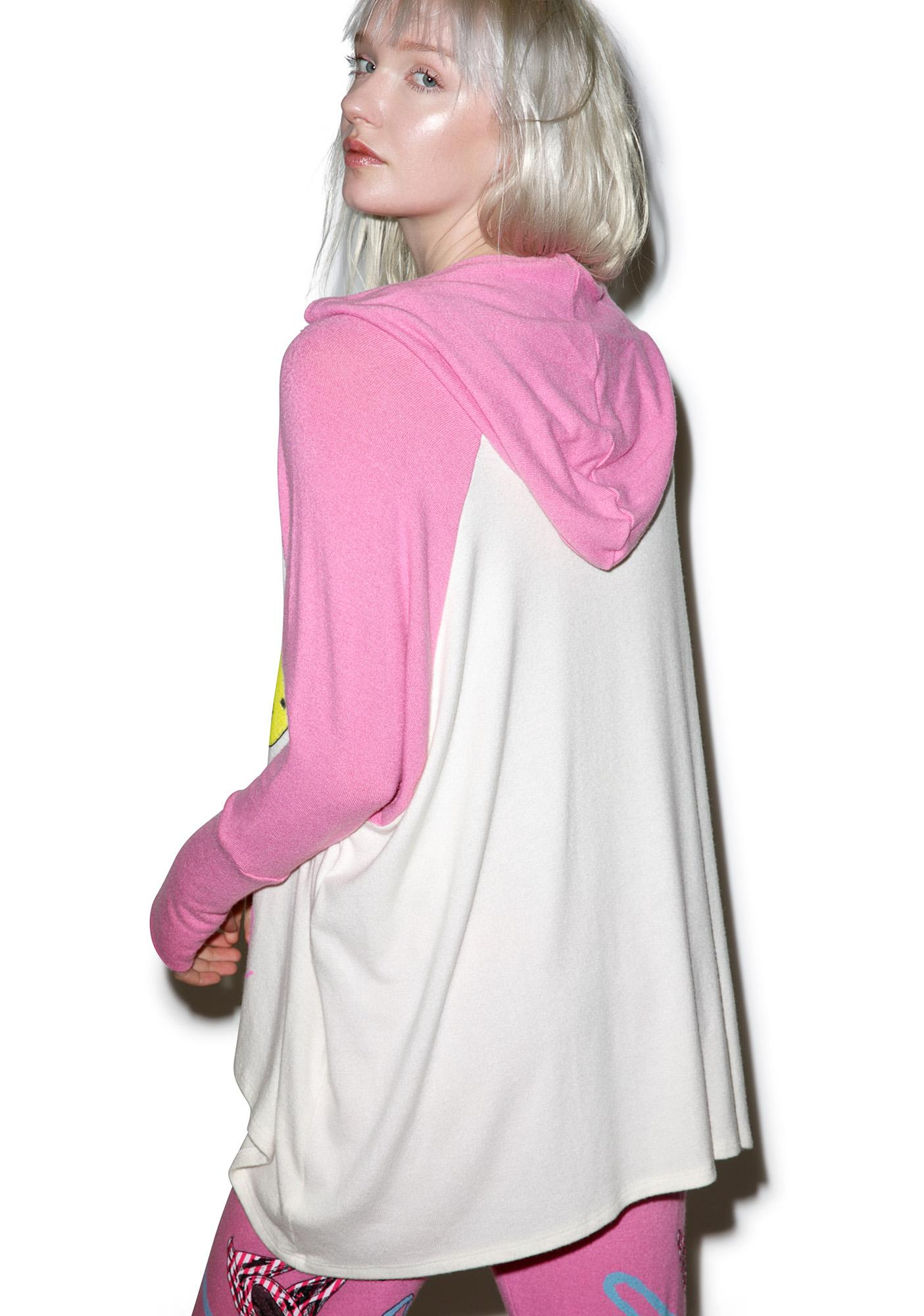 Lauren Moshi Lonnie Glamorous Oversized Raglan