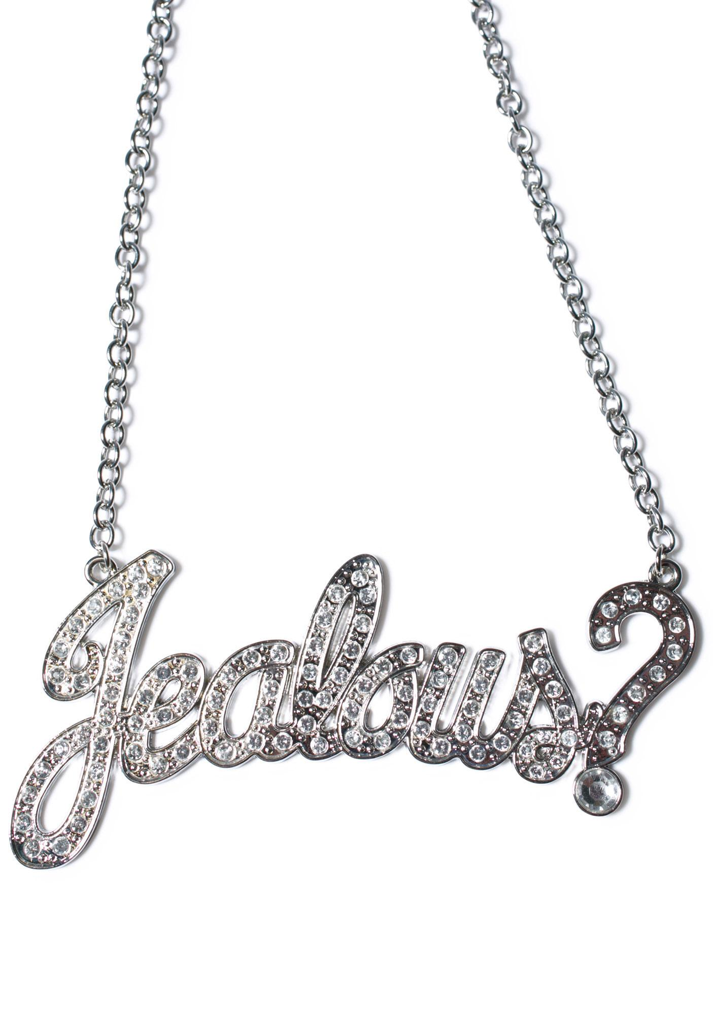Jealous Name Plate Necklace