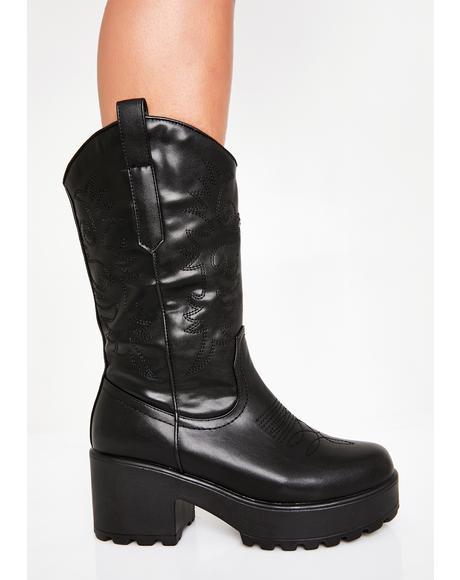 Diablo Cowboy Boots