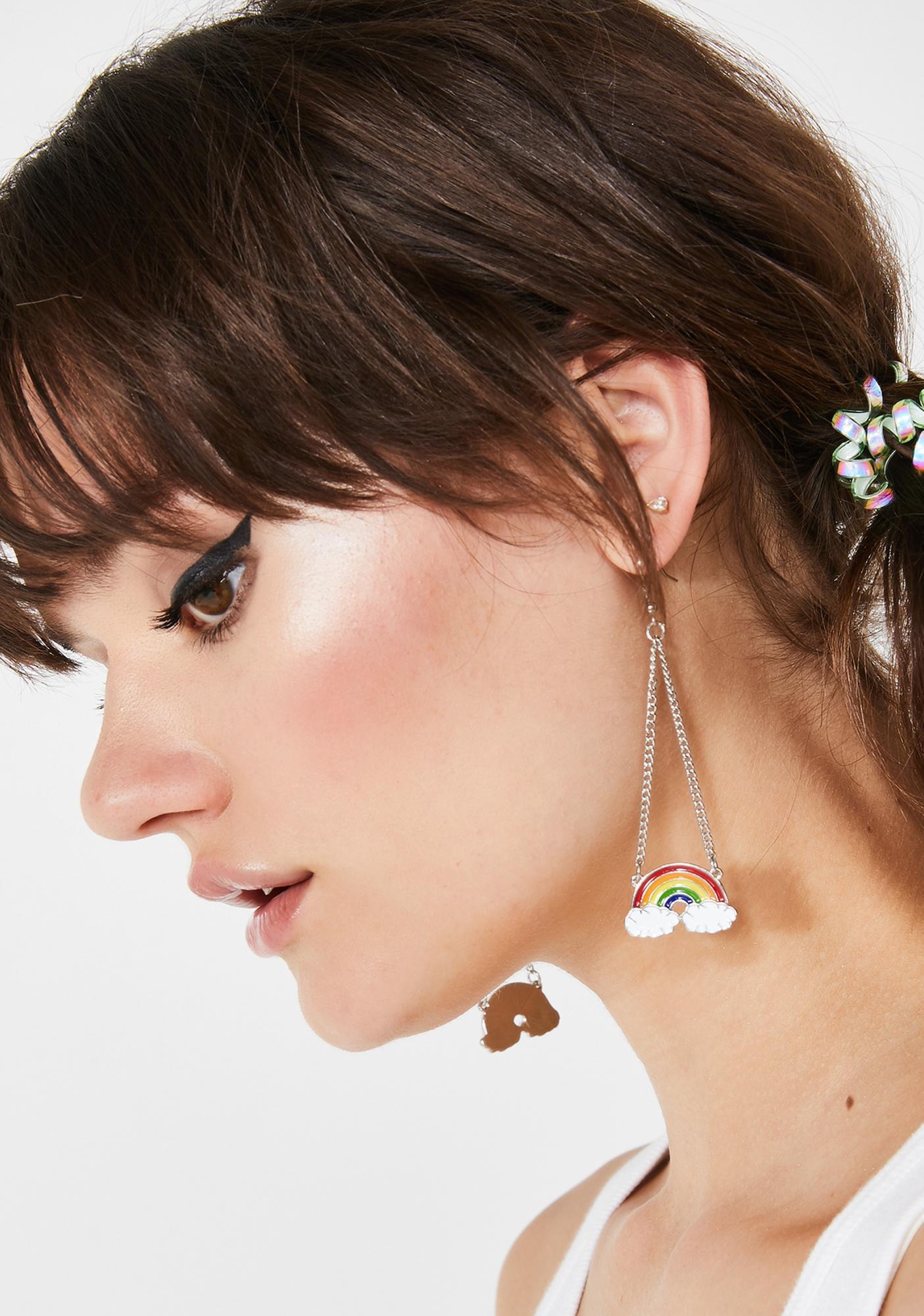 Rainbow Rager Drop Earrings