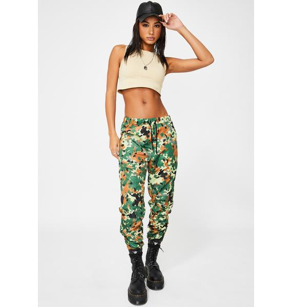 ETHIK Forest Camo Outpost Windbreaker Pant