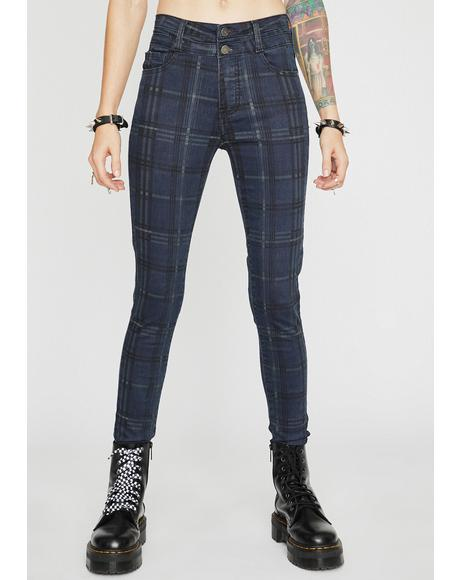 Cute But Cray Plaid Pants