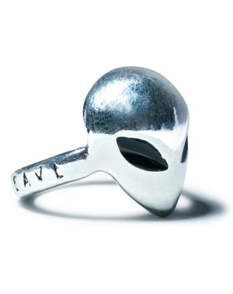 X House Of Wolves Alien Ring