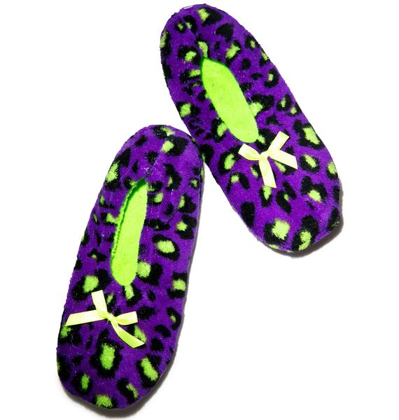 Wildin' Out Slipper Socks