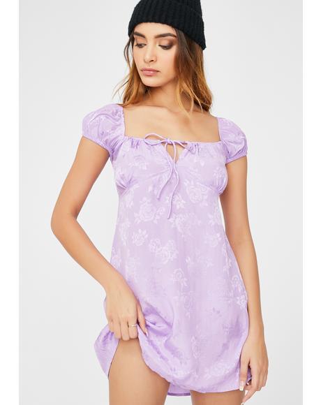 Lilac Rose Gaval Dress