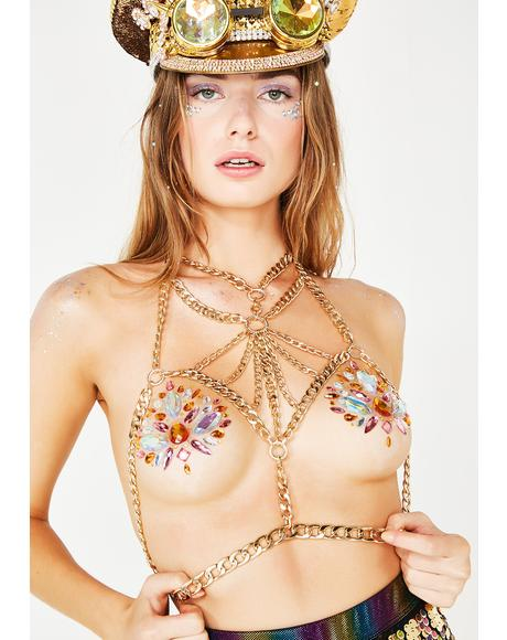 Gangsta Goddess Body Chain