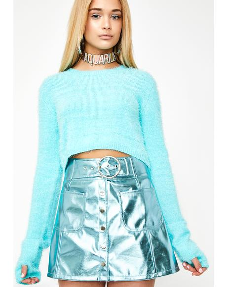 Air Sign Vinyl Skirt