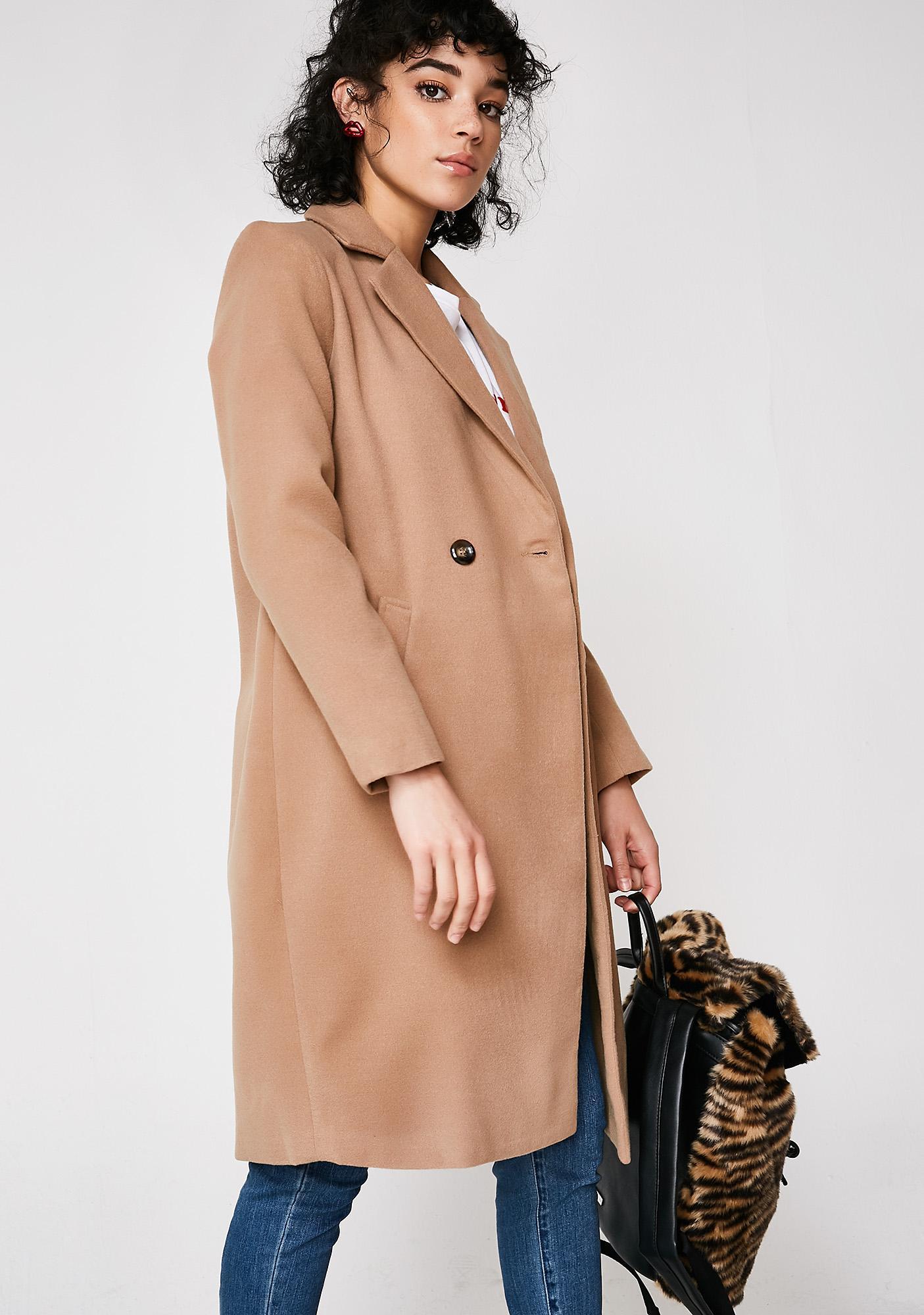 Nasty Woman Long Coat