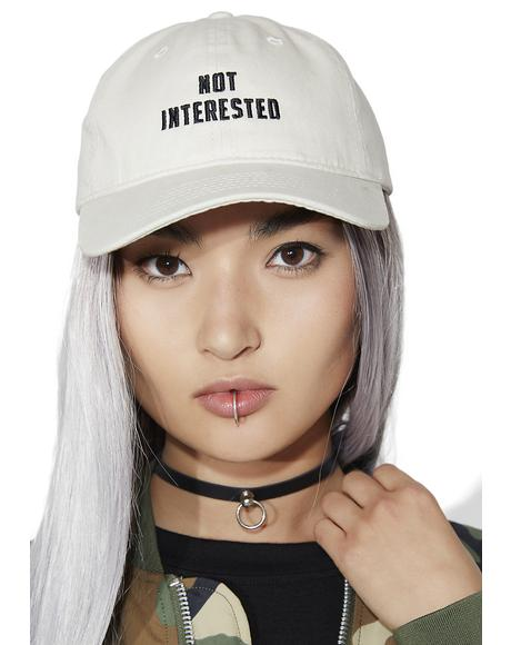 Not Interested Dad Hat