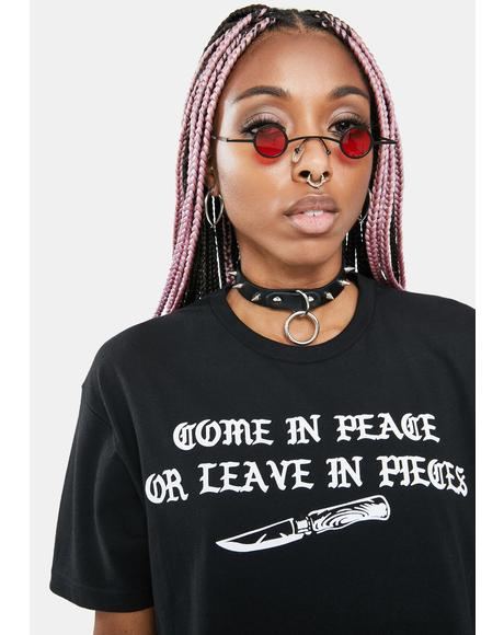 Come In Peace Graphic Tee