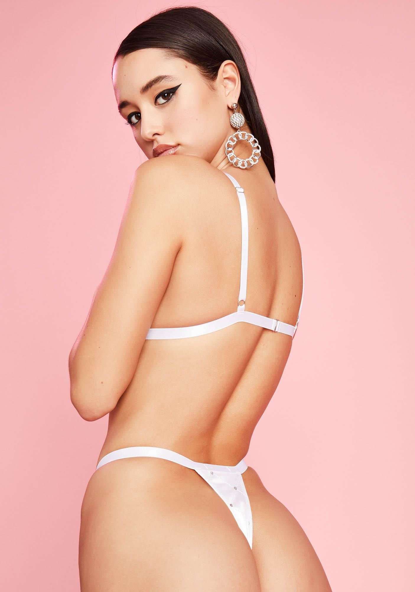 Sugar Thrillz Overnight Delight Quilted Thong