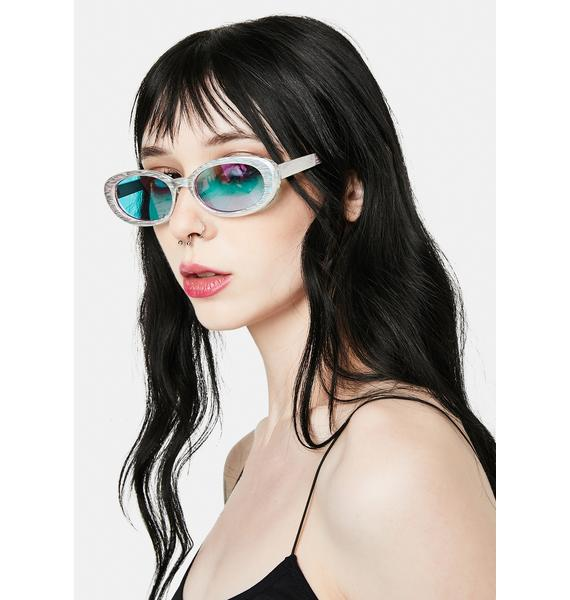I-SEA Holden Rain Purple Sunglasses