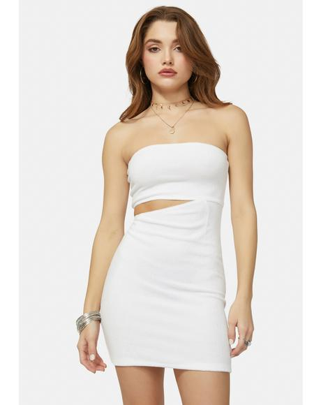Angel Hottie In Hollywood Cutout Bodycon Dress