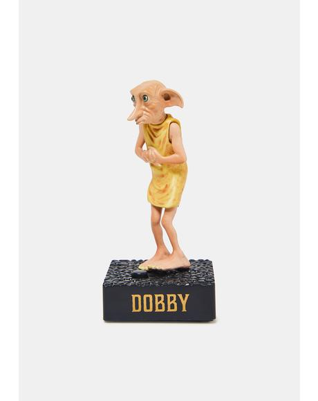 Harry Potter Talking Dobby And Collectible Book Set