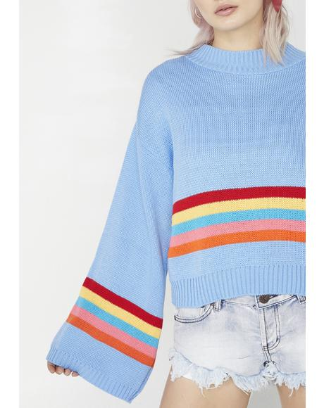Daze Off Striped Sweater