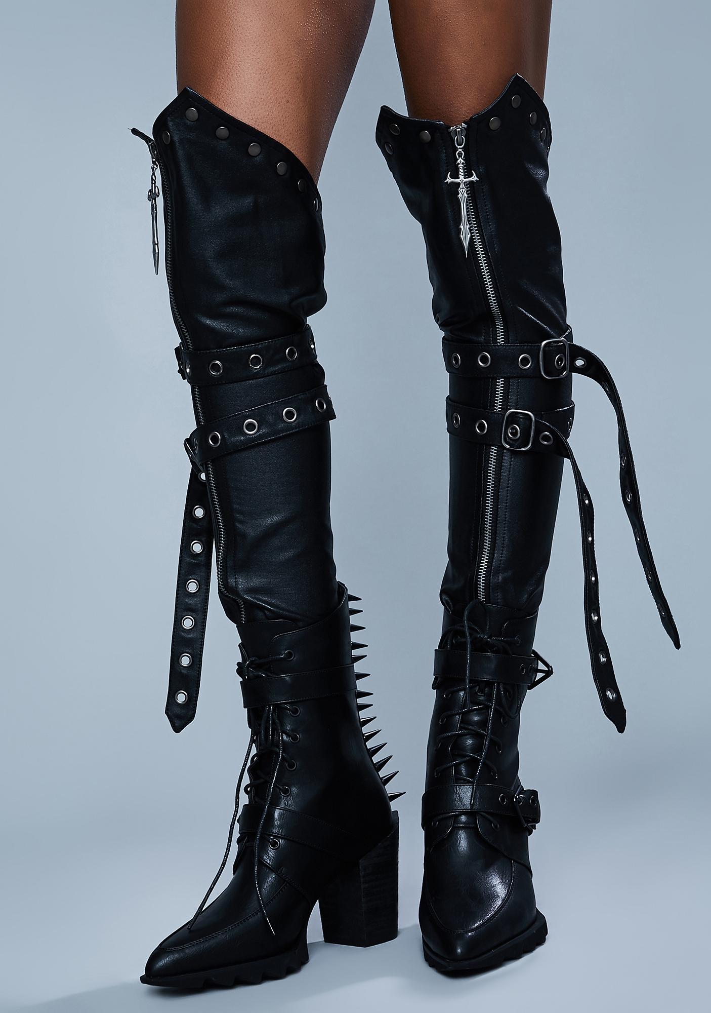 Widow Warrior Spirit Leg Harnesses