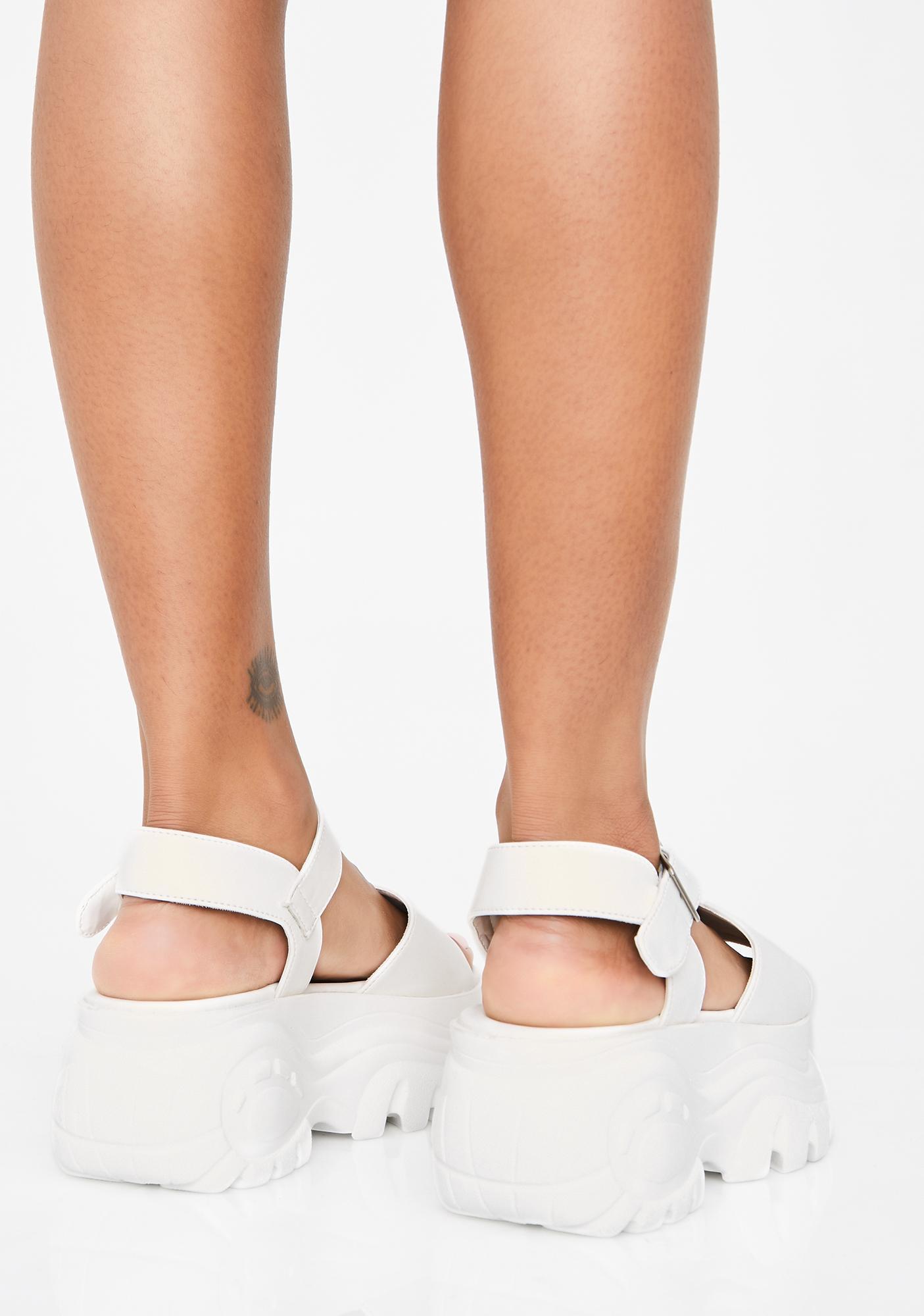Angel Come Correct Platform Sandals