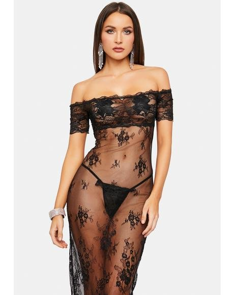 Cry If I Want To Lace Nightie