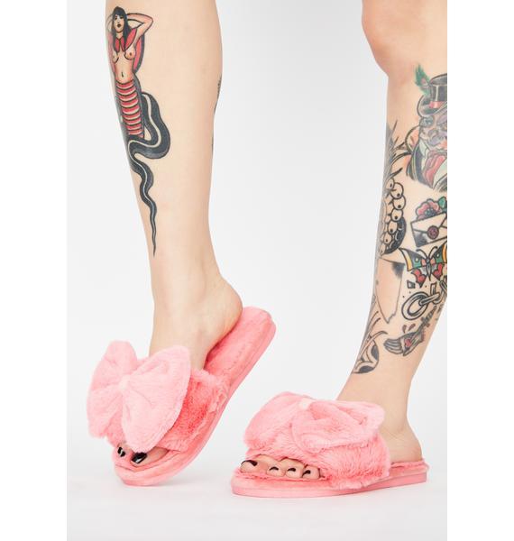 Me Time Plush Slippers