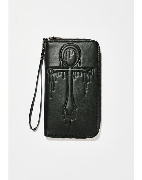 Key Of Life Ankh Wallet