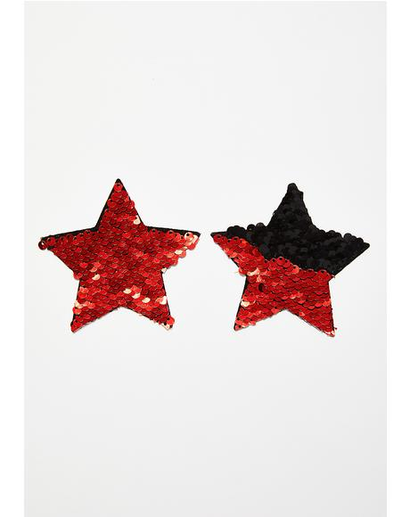 Sequin Star Pasties