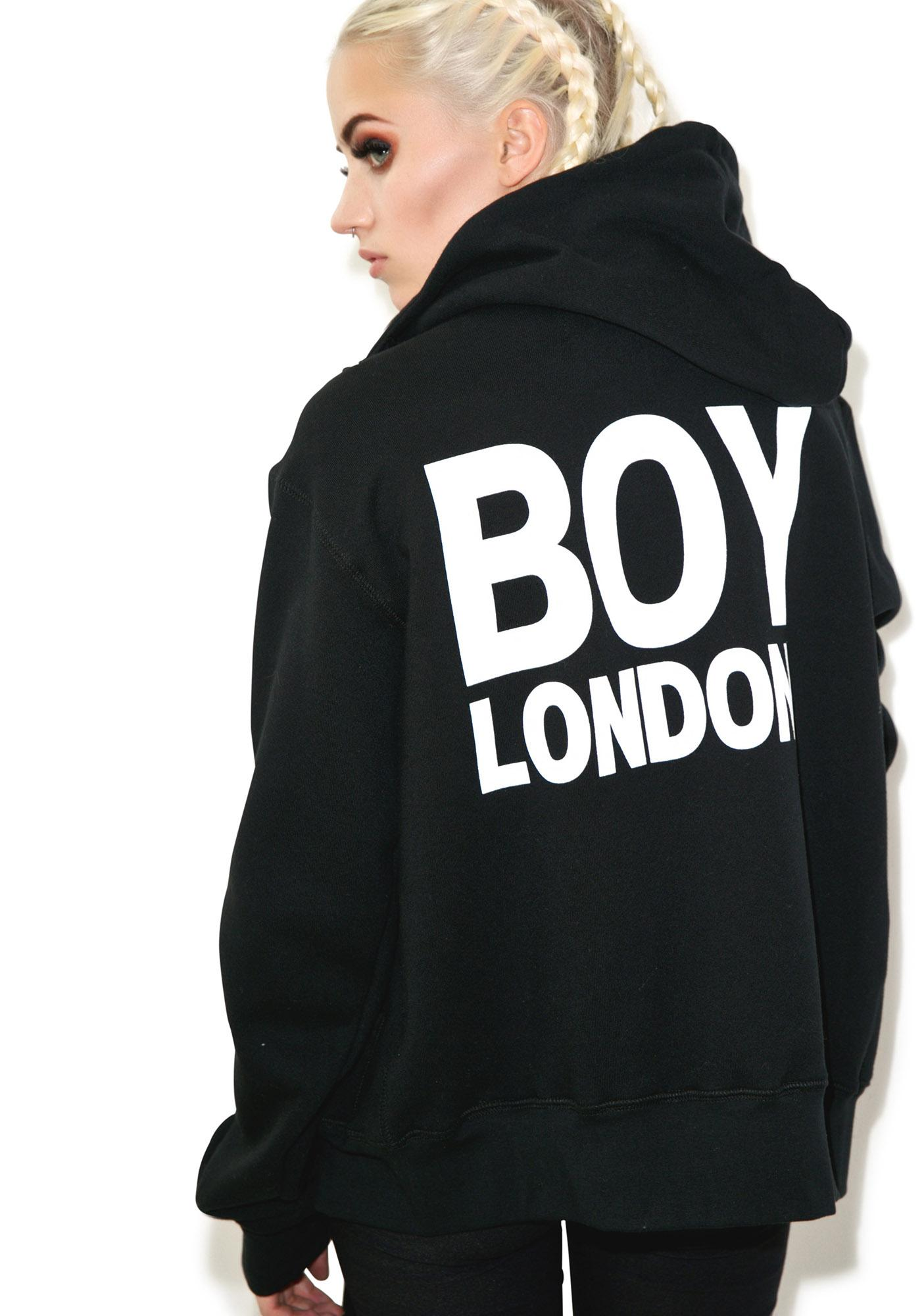 ... BOY London BOY London Eagle Zip Hoodie
