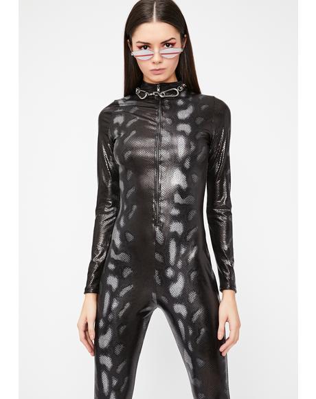 Elusive Medusa Vinyl Catsuit