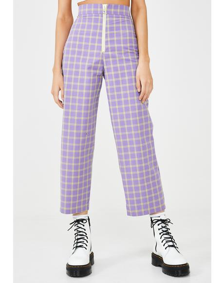 Whip Checkered Pants