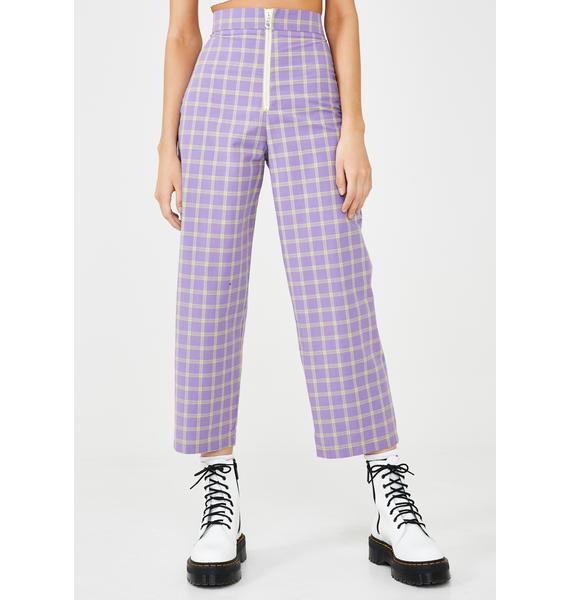 The Ragged Priest Whip Checkered Pants