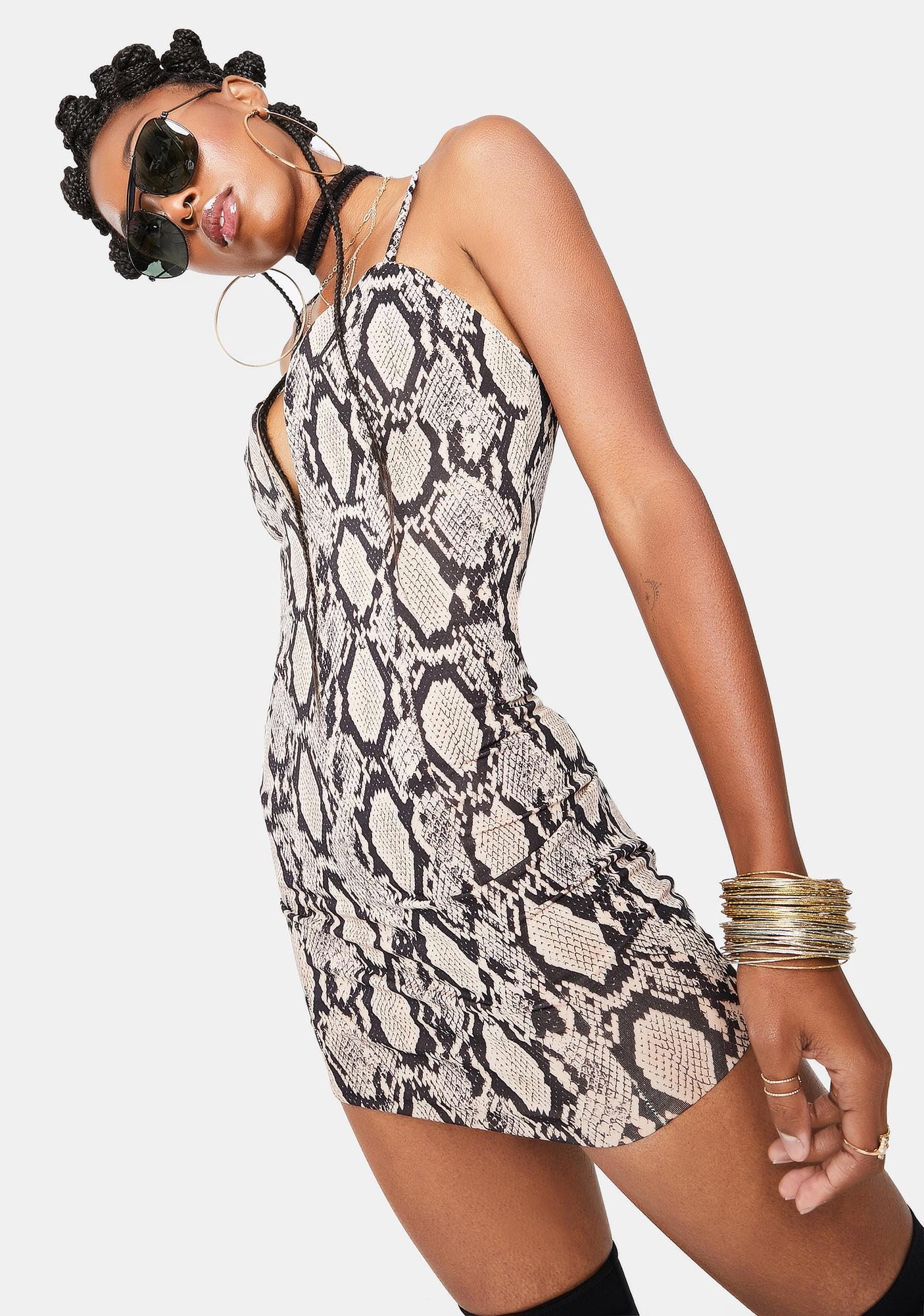 Kiki Riki Slither In Ur DMs Mini Dress