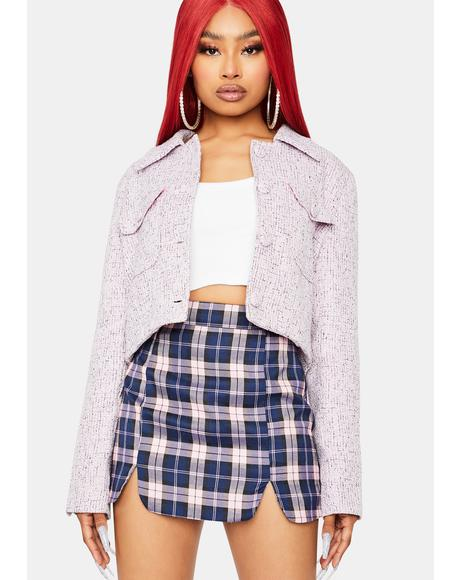 Magic How Far Is Heaven Cropped Jacket
