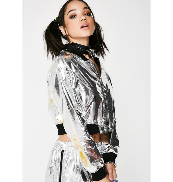 Bright Spark Cropped Jacket