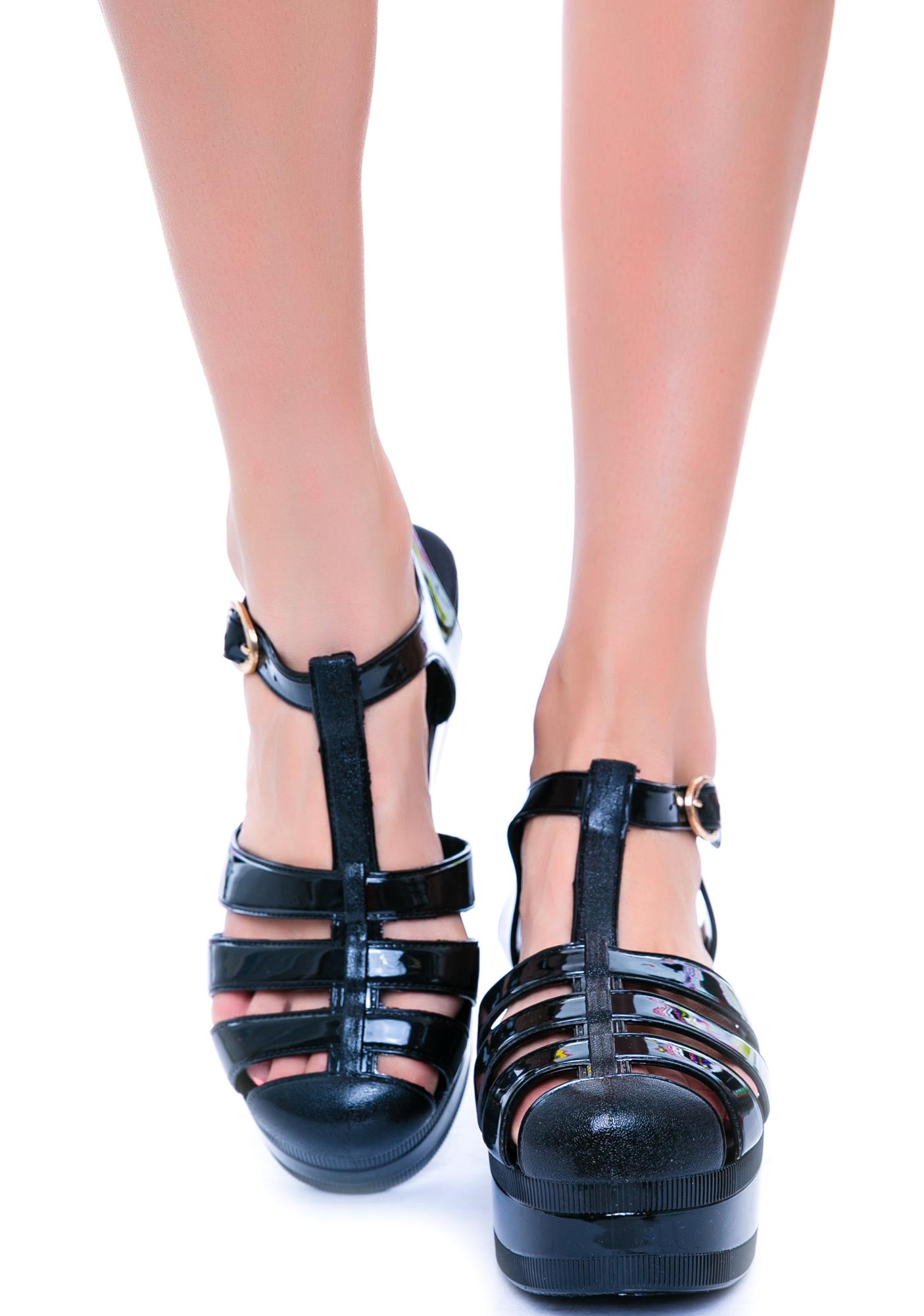 Jellypop Platform Sandal