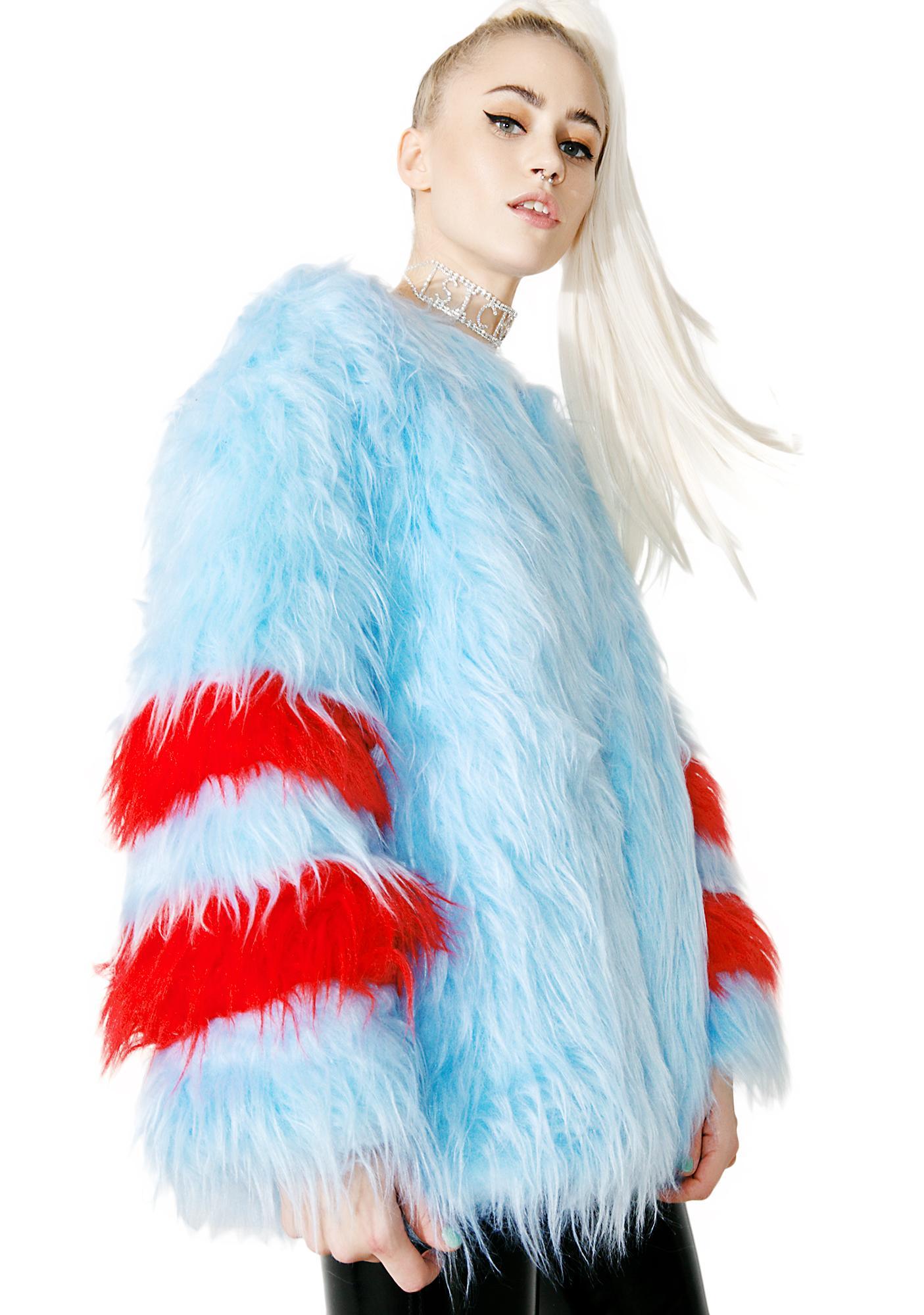 Isolated Heroes Ziggy Faux Fur Coat