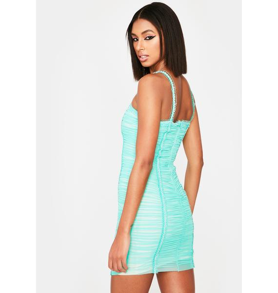 Mad About You Ruched Dress