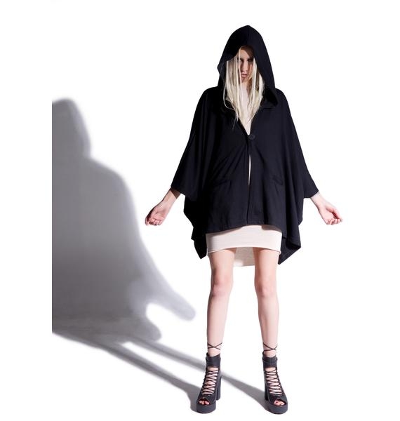 MNML Ill Intentions Hooded Cloak
