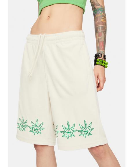 Green Buddy Terry Cloth Shorts