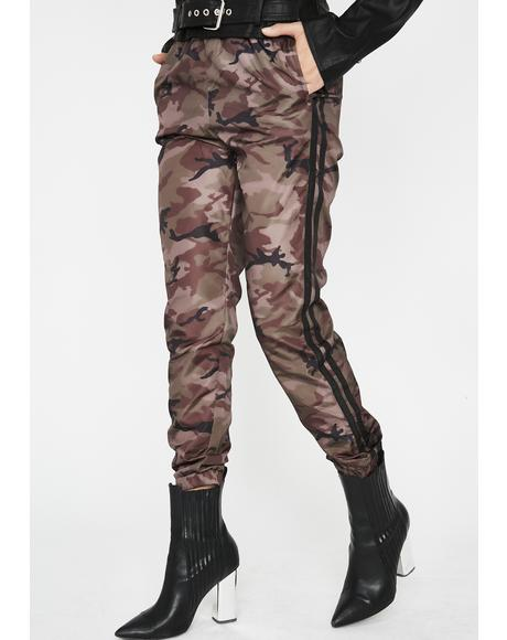 Get Caught Up Camo Joggers