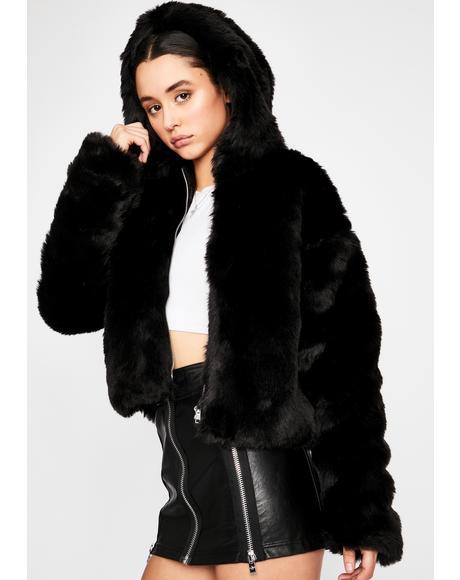 Luna Fluff N' Puff Faux Fur Hoodie