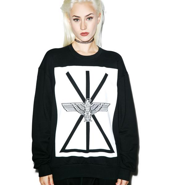 BOY London Union Eagle Standard Box Sweatshirt