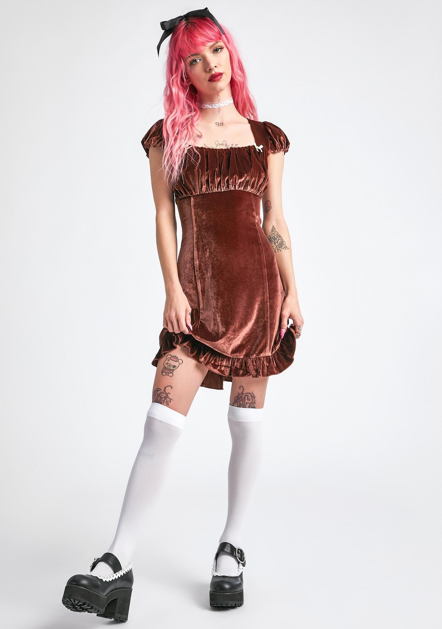 dELiA*s by Dolls Kill Are U Bored Yet Mini Dress