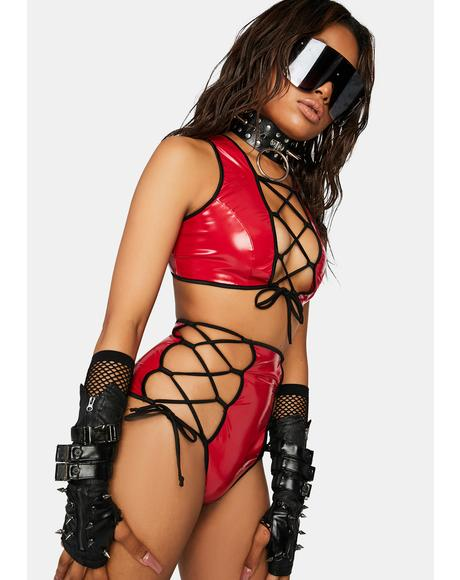 Flame Break The Mold Lace-Up Set