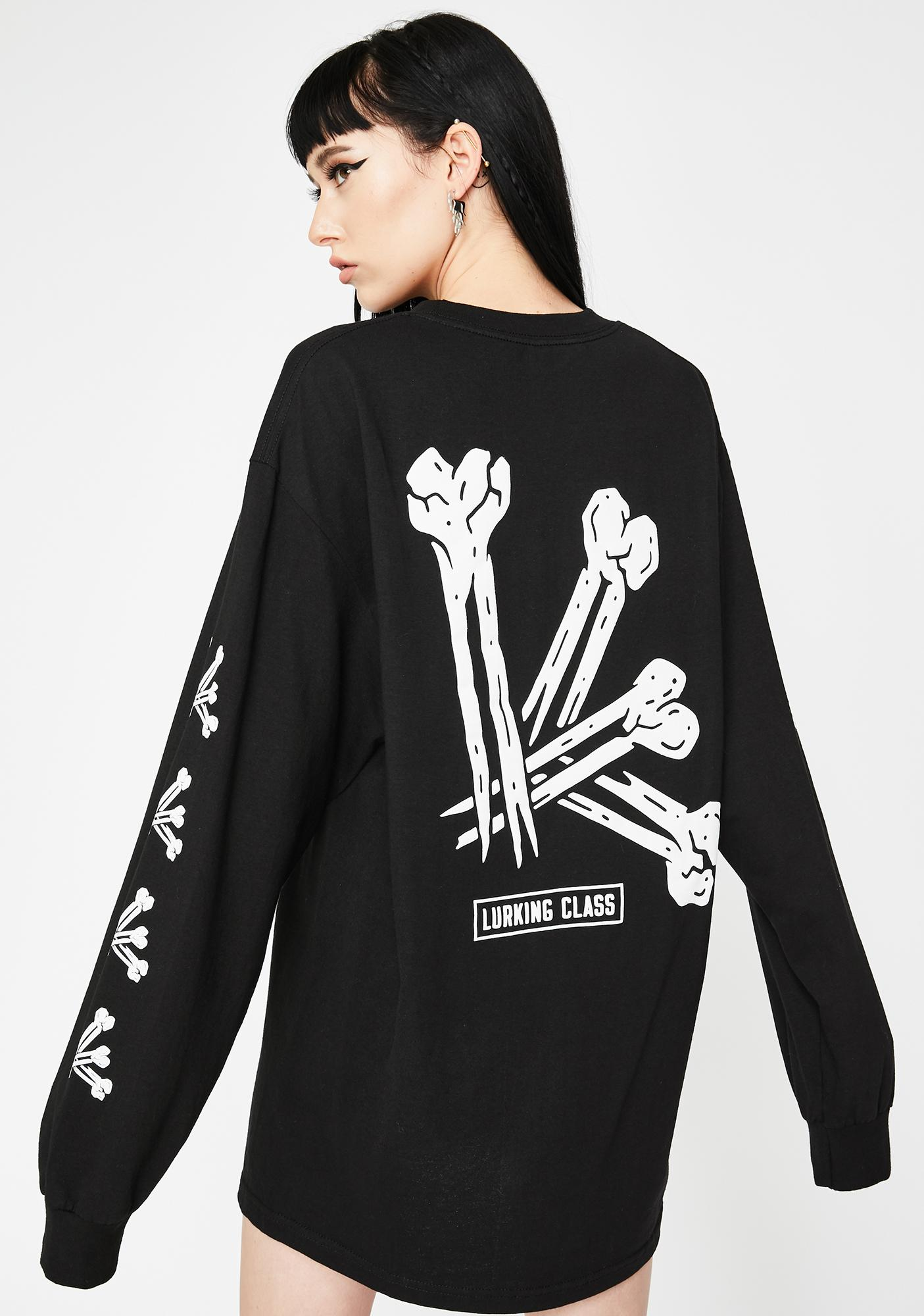 Lurking Class Bones Long Sleeve Graphic Tee