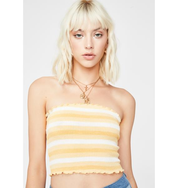 Sunny Caught My Attention Tube Top